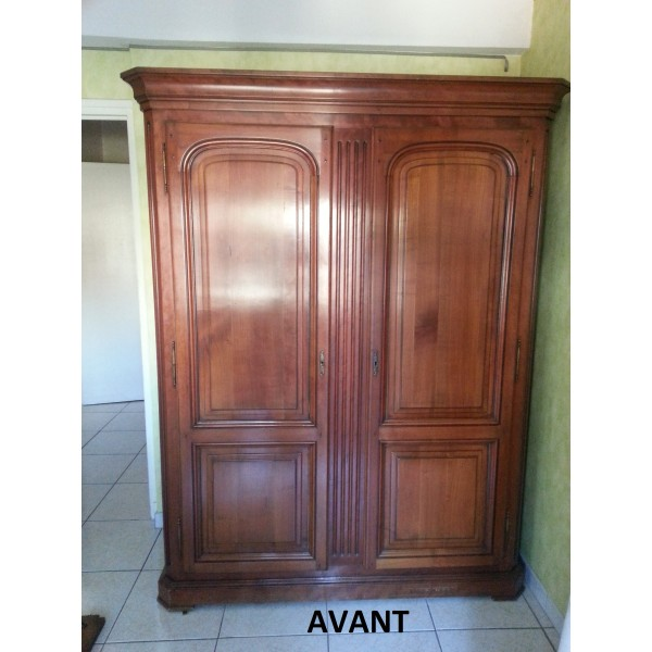 relooking meuble armoire relookeur peinture ebenisterie delfino. Black Bedroom Furniture Sets. Home Design Ideas