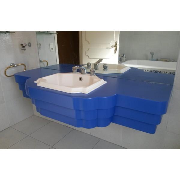 meuble de salle de bain ebenisterie delfino. Black Bedroom Furniture Sets. Home Design Ideas