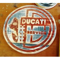 plaque decorative en bois marseille vitage artisanal ducati