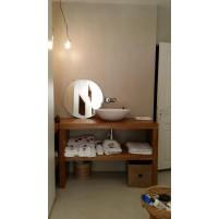 fabrication meuble de salle de bain en chéne
